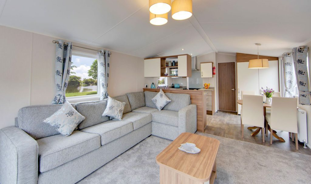 Willerby Avonmore 2018 holiday home living room