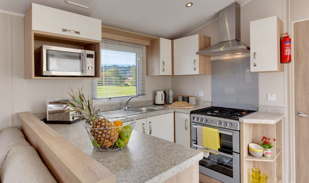 Willerby Sierra 2018 holiday home kitchen