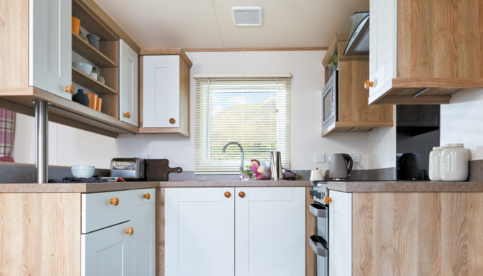 Kitchen of ABI St David 2018 holiday home