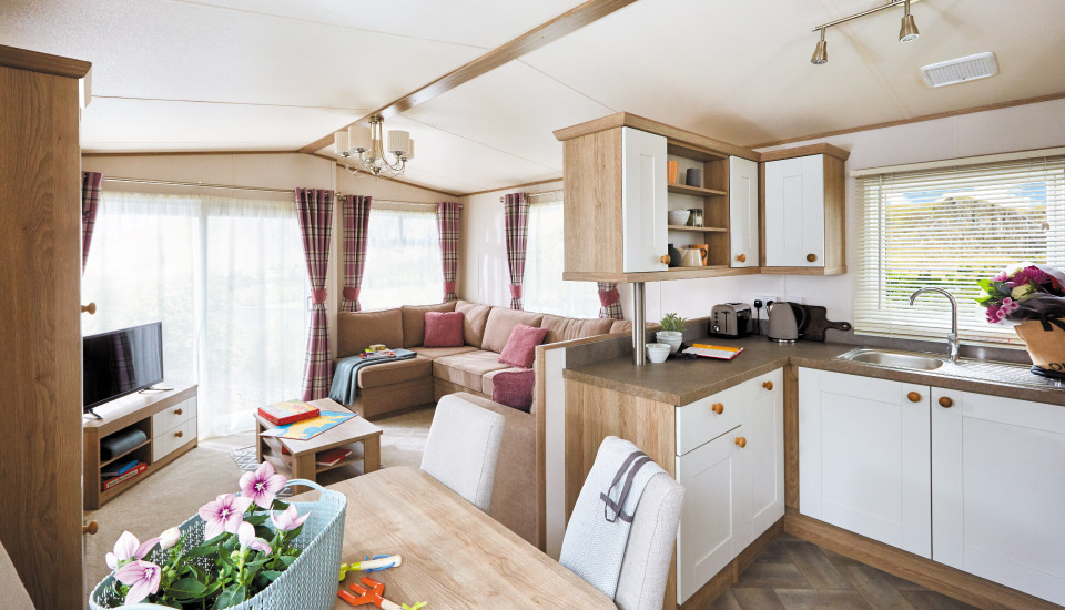 ABI St David 2018 holiday home for sale at York Meadows Caravan Park
