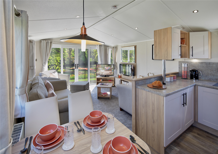 interior of a 2020 Willerby Manor holiday home