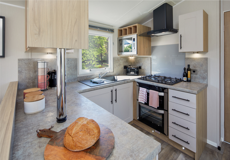 2020 Willerby Manor holiday home kitchen
